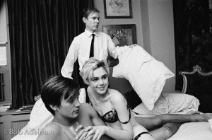 Coursera Certificate Warhol: Andy Warhol directing Beauty #2 in a New York City apartment, 1965.