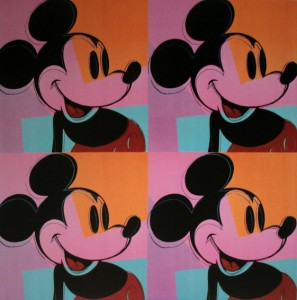 Andy Was Gay: Mickey Mouse, Andy Warhol