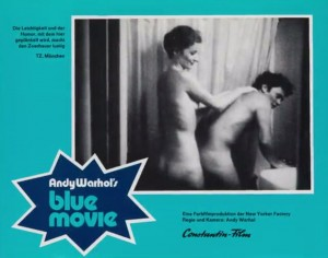 Lobby Card for Andy Warhol's Blue Movie, 1968