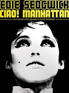 Edie Sedgwick Books: poster for the film Ciao Manhattan
