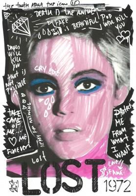 Edie Sedgwick Must Die: poster for Edie Sedgwick Lost, 1972.