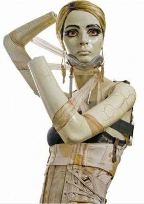 Edie Sedgwick Must Die: image of a Frankenstein-like Edie Sedgwick mannequin