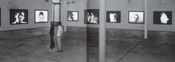 *Andy Warhol: Motion Pictures,* KW ICA, Berlin, 2004. Installation View