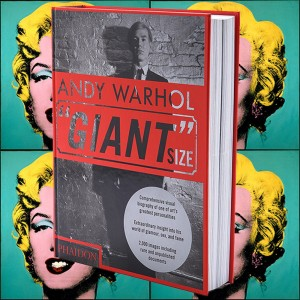 Warhol Books: cover of the book Andy Warhol, Giant Size