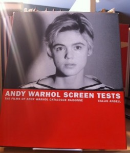 Edie Sedgwick Books: cover of the book Andy Warhol Screen Tests by Callie Angell